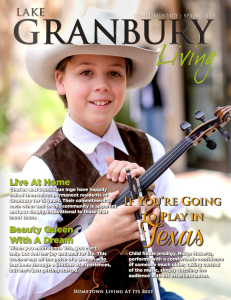 Lake Granbury Living cover